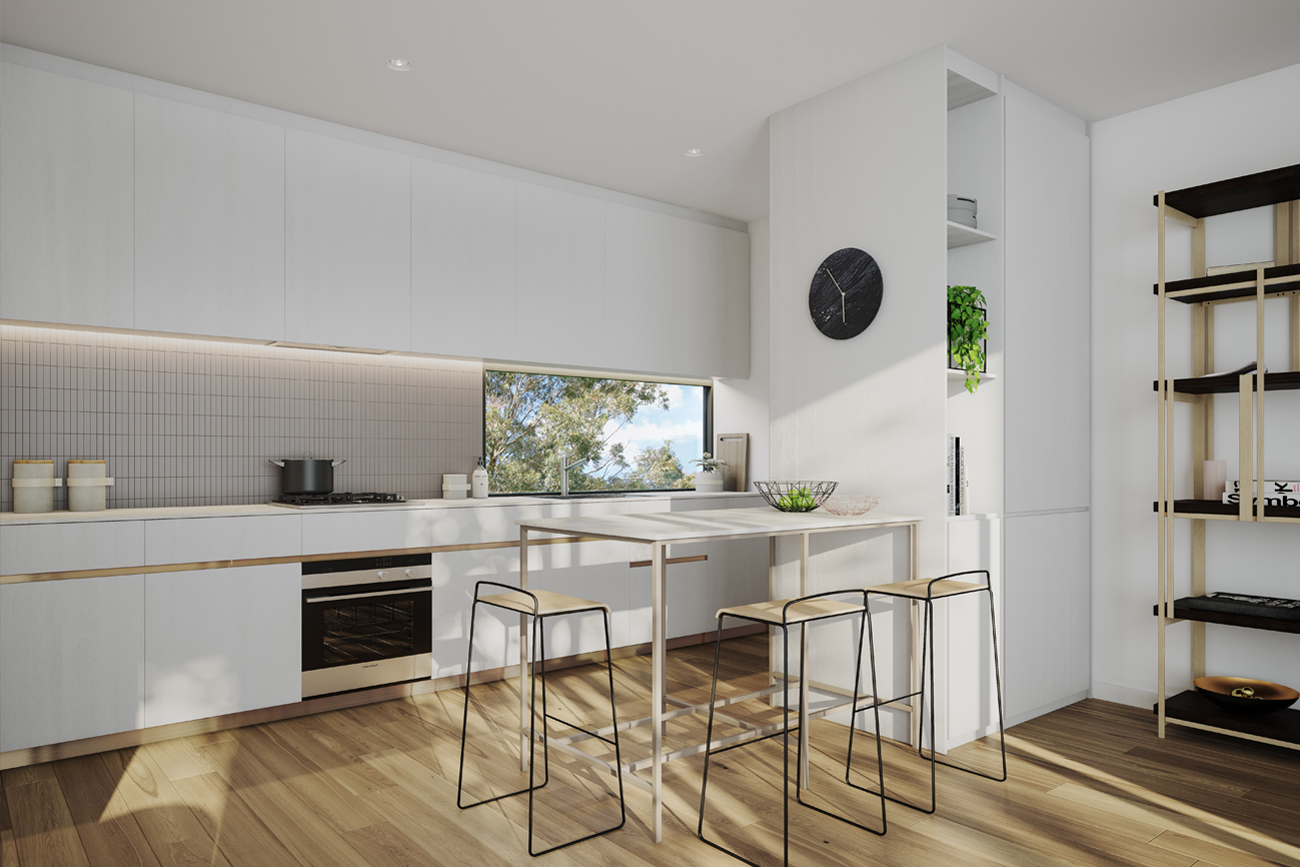 Taylor Reynolds Architects - Ivanhoe Townhouses