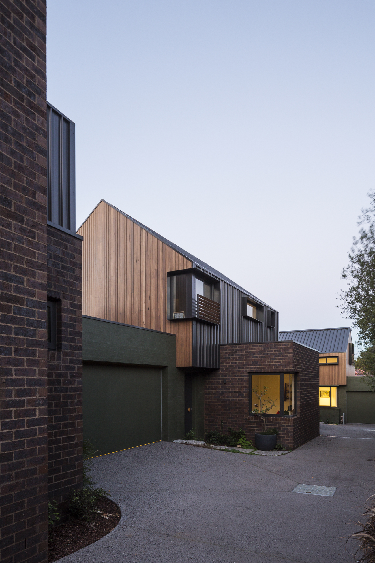 Taylor Reynolds Architects - Preston Townhouses